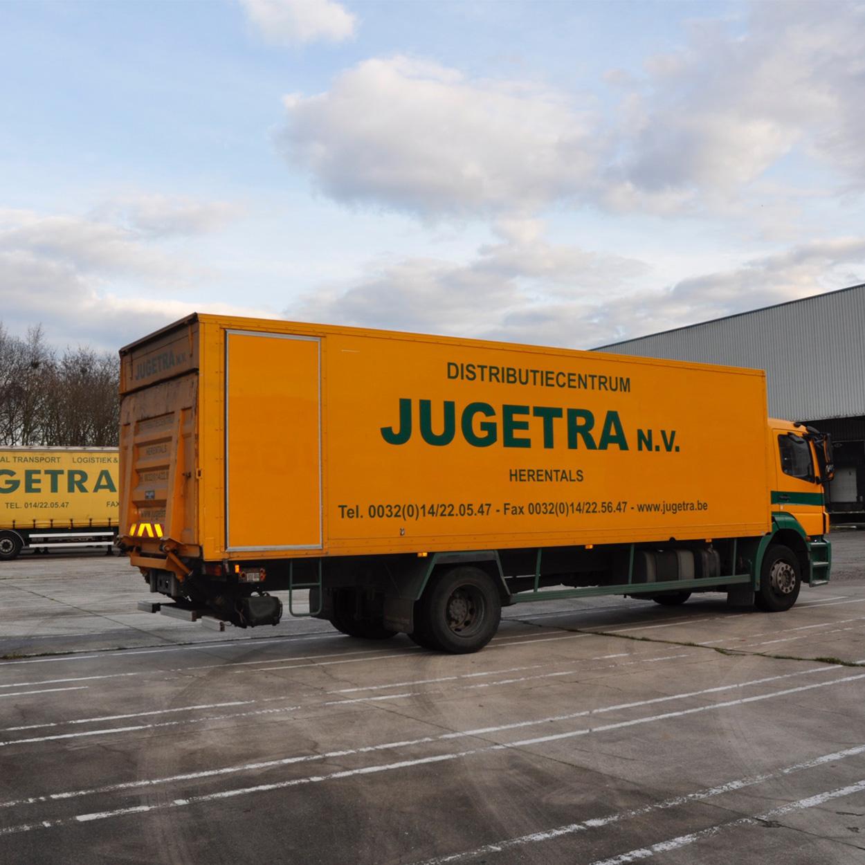 Jugetra - Opslag, transport en logistiek